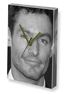 DEAN GAFFNEY - Canvas Clock (A4 - Signed by the Artist) #js001