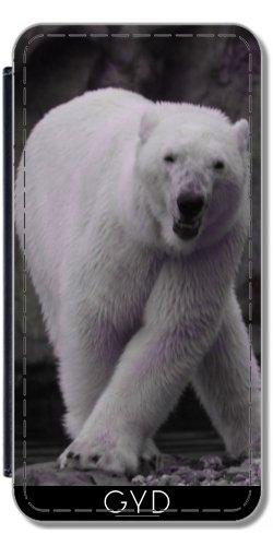 Custodia in PU Pelle per LG G5 - Ballare Orso Polare by More colors in life
