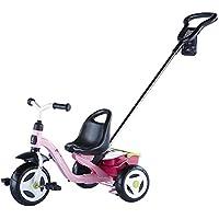 Kettler Toptrike Giacomo - Kinderdreirad - das coole Dreirad mit Schiebestange für Kinder ab 2 Jahren - Farbe: Grün - Artikelnummer: 0T03055-5000