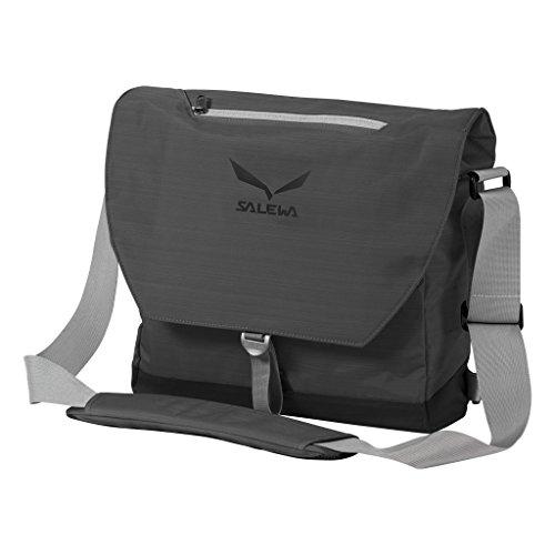 SALEWA Erwachsene Messenger und Laptop Tasche M 15 zoll, Grey, 43 x 38.5 x 11 cm, 18 Liter, 00-0000002873 (Bag Duffle Laptop)