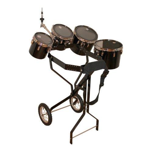 Schlagzeugwagen mit 4 Toms, Hi-Hat Halterung