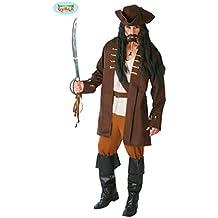 Costume Uomo Pirata stile Capitan Sparrow - 80512 cb8b95718bc3