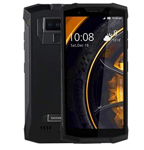 DOOGEE S80 - Walkie-Talkie professionale Smartphonecon batteria 10080mAh, IP68 / IP69K Impermeabile/Antiurto / Antipolvere Android 8.1 5,99 6GB + 64GB,Black