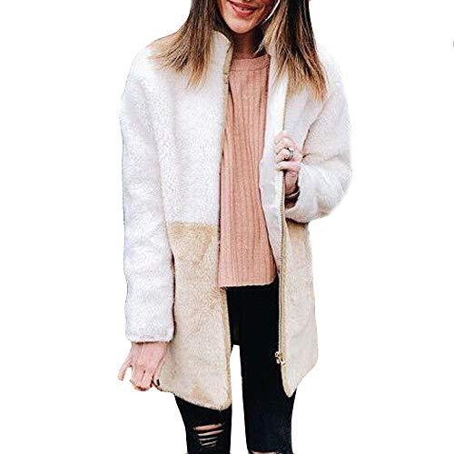 Preisvergleich Produktbild Luckycat Damenmode Plüsch Herbst Winter Langarm Warm Warm FashionLong Coat Jacken Mäntel Sweatjacke Winterjacke Fleecejacke Steppjacke