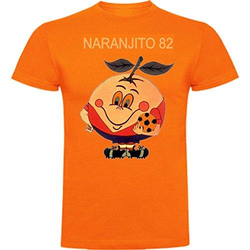 The Fan Tee Camiseta Mujer Divertidas Naranjito 82