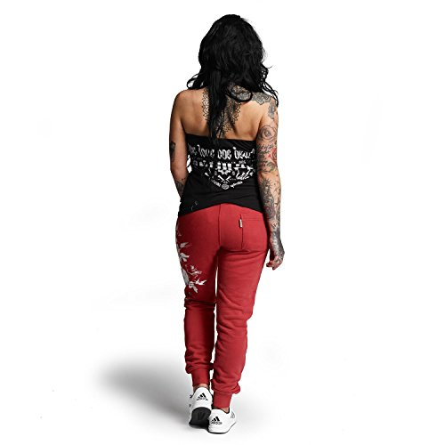 Yakuza Original Damen One Heart Jogginghose Cardinal