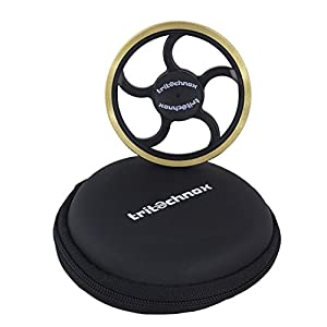 tritechnox™ - Tri Fidget Hand / finger Spinner Toy, Stress Relief fidget spinners with Ceramic Bearing, Fidget Finger Toy, Rotates for 3-5 mins - Perfect for ADD / ADHD / Anxiety / Autism in Children