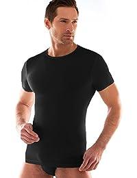 259993ea65 Liabel 3 t-Shirt Corpo Uomo Cotone Elasticizzato Mezza Manica Girocollo  03858/P23