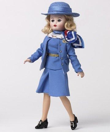 Am 1980's Stewardess Doll ()