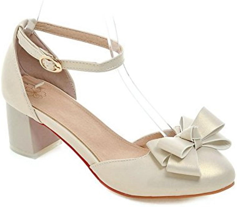 AdeeSu Pour Femme Nœuds Style de en RoFemmes en de Polyuréthane Pompes Chaussures Or Doré, 34 EU, SLC00849B01GIZE8QCParent 30bb33