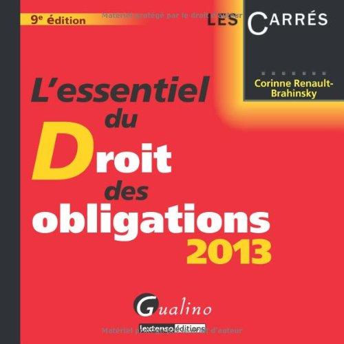 l-39-essentiel-du-droit-des-obligations-2013