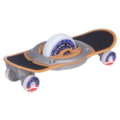 Giochi Preziosi 70030471 Mini Finger Skateboard avec entraînement par roue à inertie