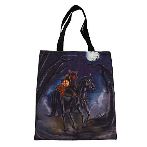 Bag Schulter Handtasche Einkaufen Lebensmittelgeschäft Halloween Tote Candy Bag, Branch ()