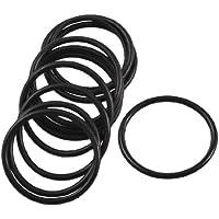 10Stück Black Rubber Oil Seal O-Ring Dichtung Unterlegscheiben 22mm x 19mm x 1,5mm