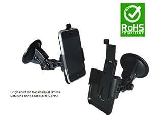 Profi KFZ Halterung Handyhalterung Passiv Halterung Nokia 5800 Xpress Music 360° drehbar/schwenkbar