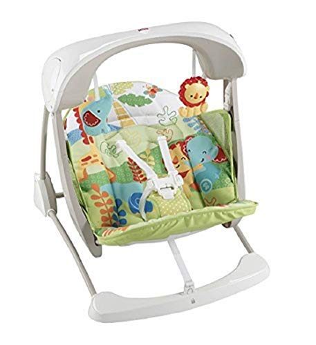 Fisher-Price Rainforest Modelo CJV02 Hamaca bebe electrica