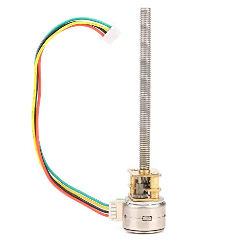 Mikroschrittmotor, GM12BY15-M455 Mini-2-Phasen-4-Draht-Ganzmetall-Untersetzungsgetriebemotor, Gleichstrom, weit verbreitet in elektronischen Schlössern, DIY-Spielzeugautos (DC5V 10RPM)