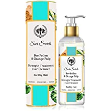 Bee Pollen & Orange Pulp Strength Treatment Hair Cleanser │For dry hair│Nourish Strengthen Repair│(200 ML)