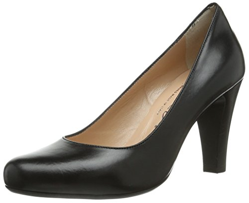 preto Mulheres Preto Sapatos Fechadas Evita Bombas wXqEORp1ax