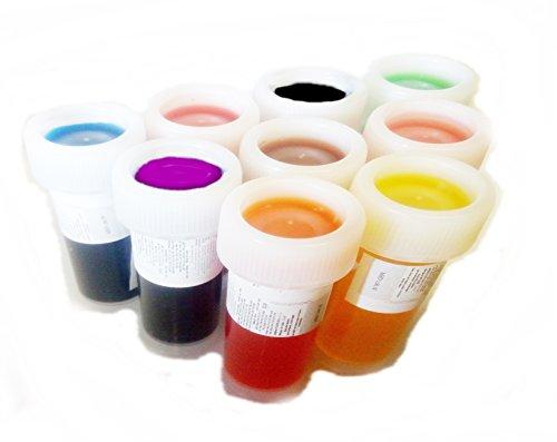 Colore liquido alimentare 9 x 12ml (20g)