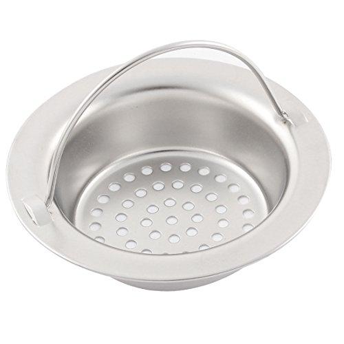 Preisvergleich Produktbild Küche Bad Edelstahl Masche Spüle Abfluss Becken Sieb Waschbeckensieb mit Griff