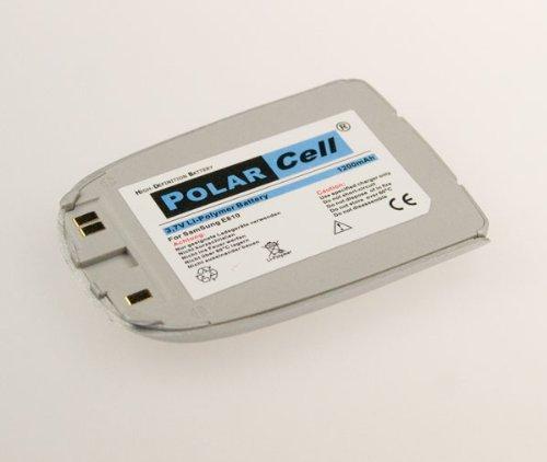 NFE² Edition Polarcell Lithium-Polymer Akku - 1100mAh - für Samsung SGH-E810 silber