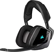 Corsair VOID ELITE Wireless Cuffie Gaming con Microfono, Audio 7.1 , Wireless 2.4 GHz a Bassa Latenza, 12 metr