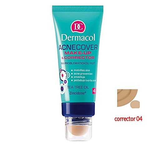 DERMACOL ACNECOVER MAKEUP WITH CORRECTOR 4 30ML