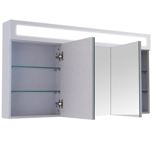 3D Wandspiegel Spiegelschrank – 120cm - 2