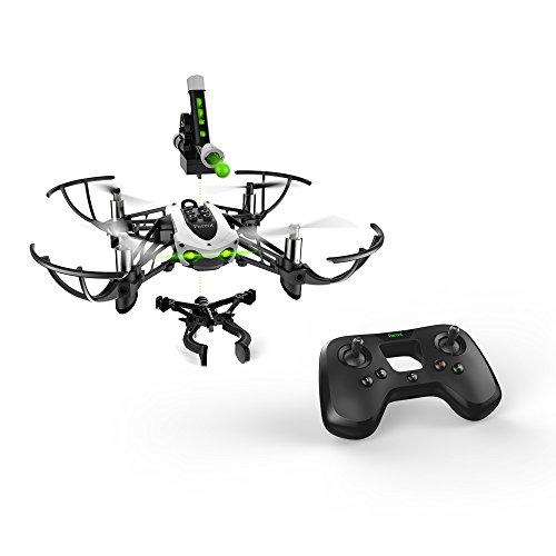 Parrot-MiniDrone-Quadricoptre-Mambo-Mission-Drone-Accessoires-Flypad-NoirBlanc