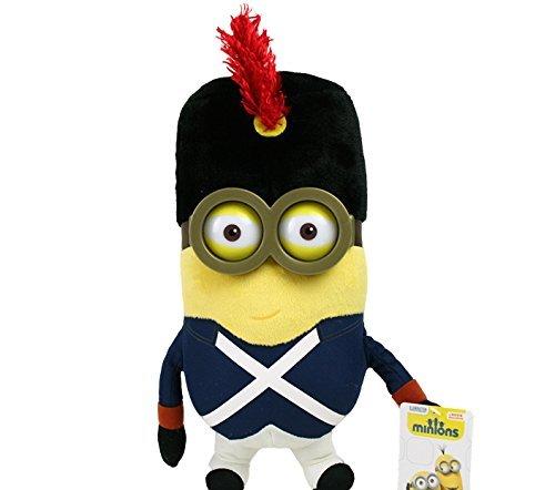 28cm Minions Plüschfigur, Bob mit Kostüm Französischer -