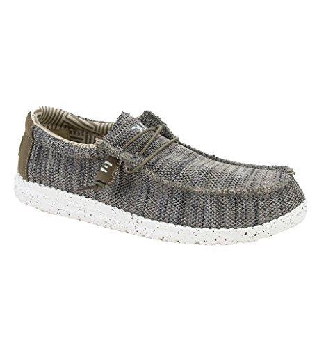 Dude Shoes Wally Masculin Brun Uk9eu43 De Sox O08knPw
