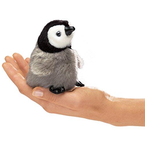 Desconocido Folkmanis Puppets 2680  - Mini bebé pingüino Emperador