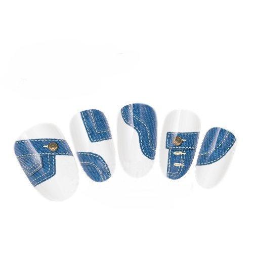 Come 2Buy-Nail Art Tatoo/Wrap trasferimento dell' acqua decalcomanie Fun Denim Jeans Tasche per Nail Art/Cell Phone Case/biglietti di invito decorazioni d?Cor
