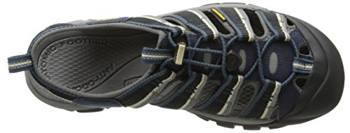 Keen Herren Newport H2 Wasser Schuhe Midnight Navy/Feather Gray