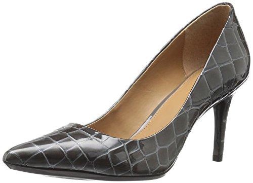 Calvin Klein Gayle Spitz Synthetik Stöckelschuhe Shadow Grey