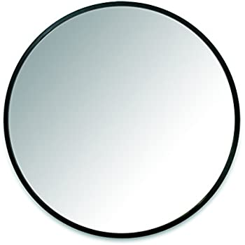 Umbra Hub 37? Circular Mirror ? Round Mirror for Entryways, Washrooms, Living Rooms and More, Doubles as Wall Art