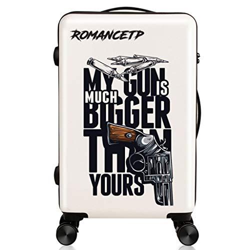 LYXPUZI Reisetaschen Superleichter Hartschalen-Handgepäckkoffer for die Hand in der Kabine mit 4 Rädern, Einstieg in das Fahrgestell Universeller Trolley for Räder Reisetaschen Handgepäck - Fahrgestell