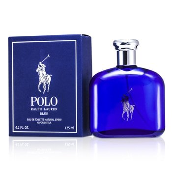 Ralph Lauren Polo Blue Eau De Toilette Spray- 125ml/4.2oz