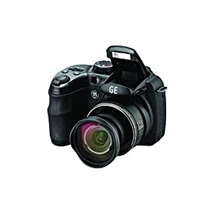 GE W1500 Black 14.1 Megapixels Digital Camera with 15 X optical zoom 3200 ISO 27mm wide auto scene pancapture face auto High dynamic