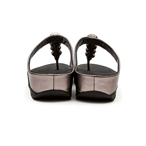 FitFlop Rola, Tongs Femme, Various Pewter