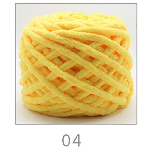 Fairy shop Chunky Soft Super Dicke Wolle Garn Für Hand Stricken Cashmere Garn DIY Schal Decke Nähen Handwerk Thema, 4.