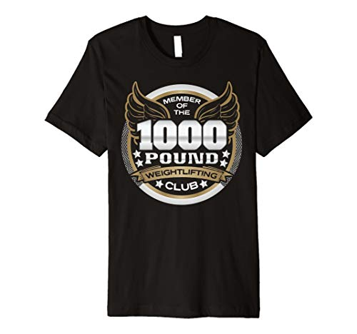 """""""1000Pfund Gewichtheben Club"""" Mitglied T-Shirt Preisvergleich"""