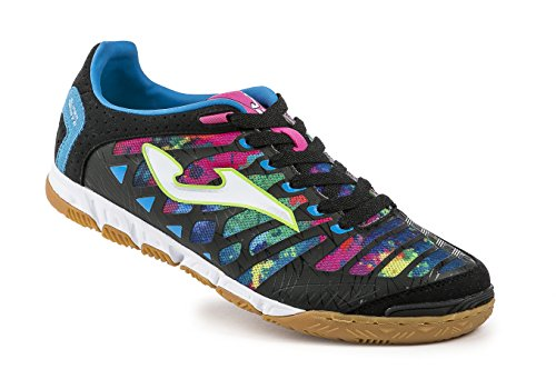 Joma Super Regate 601 Negro-Multicolor Indoor - Chaussures de Foot en Salle Homme BLACK MULTICOLOR