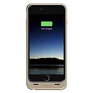 Mophie Juice Pack Batterie rechargeable Case externe (2,600mAh) pour l'or Apple iPhone 6 Plus