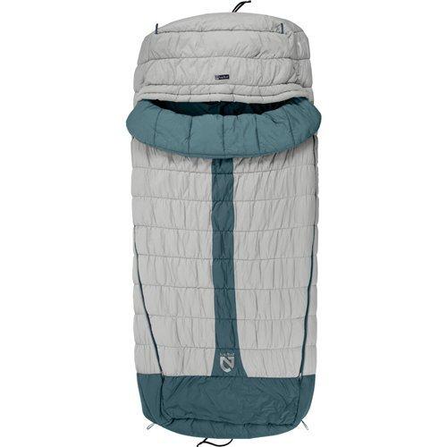 Nemo Equipment Schlafsack Jazz, Herren Damen, Aluminum/Wave, Reg -