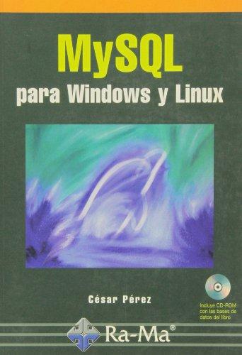 MySQL para Windows y Linux.
