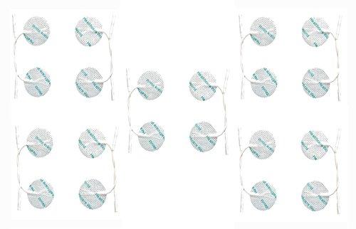Elektroden / Pads für TENS und Reizstromgeräte, 32mm, rund, 20 Stück - Runde Elektroden