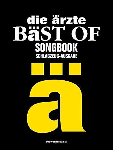 Die Ärzte - Bäst Of Drums (Songbook): Für Schlagzeug