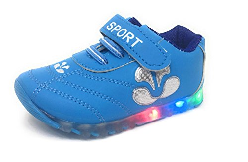 a8ef13915b6c2 TeeniTiny LED Light Shoes for Kids Boys Girls   Baby (06 Months - 2.5 Years